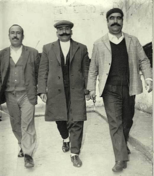 Mahkumlardan, 1... 2-Hasan Dikbaş 3-Halil Kekeç. Fotoğraf Bülent Kekeç