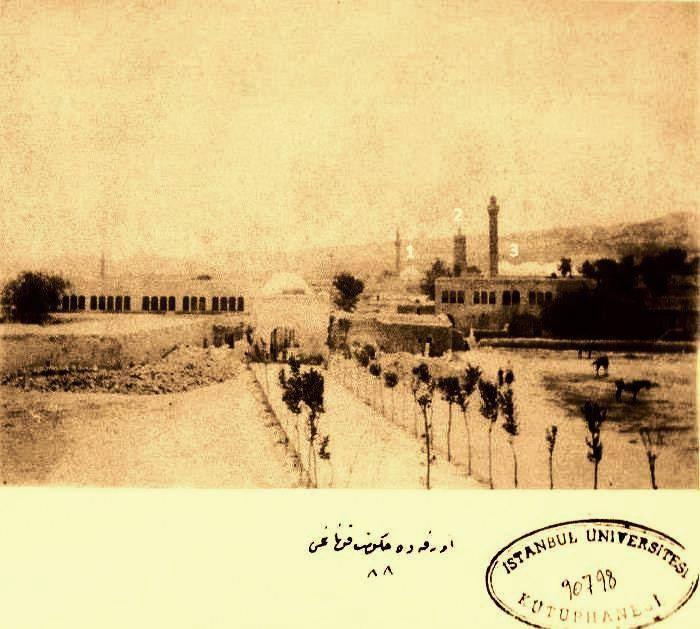 Urfa, 1895. Sultan II. Abdulhamit Han ''Yıldız Albumü''nden