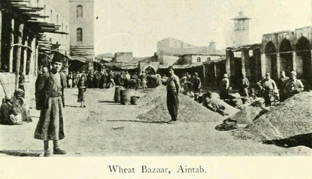 (İngilizce'den tercüme) Buğday pazarı, Aintab