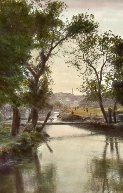 Aleppo Qweq river color