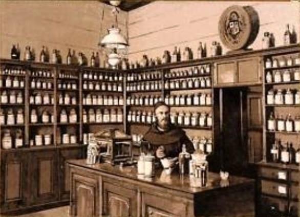 Kuruluş 1876, Aintab. Amerikan Hastanesi Eczanesi. Eczacı Artin Efendi